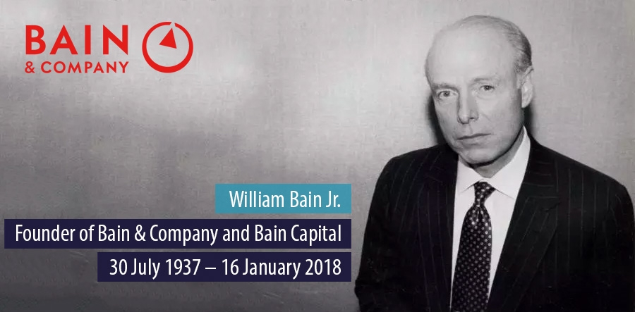Bain & Company founder William Bain Jr. dies  aged 80