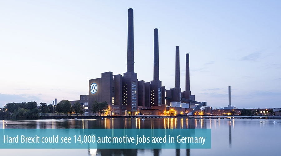 Hard Brexit could see 14,000 automotive jobs axed in Germany