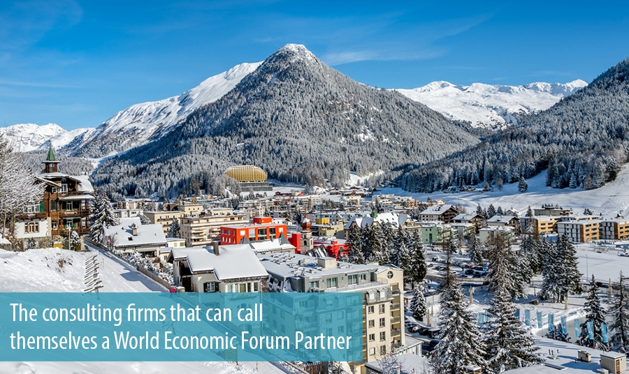 The consulting firms that can call themselves a World Economic Forum Partner