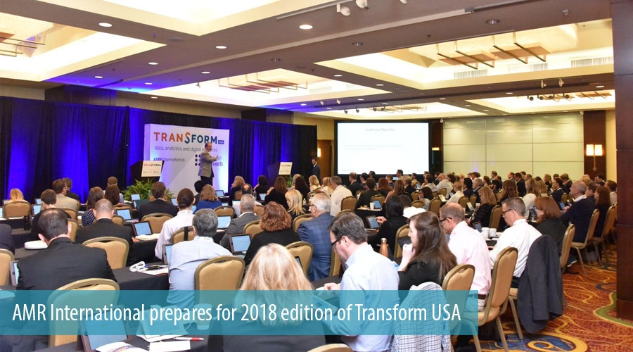 AMR International prepares for 2018 edition of Transform USA