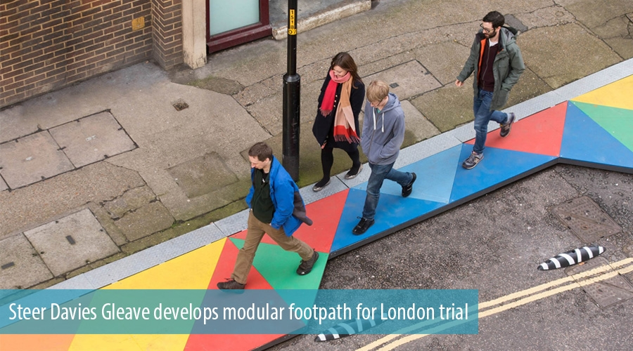 Steer Davies Gleave develops modular footpath for London trial