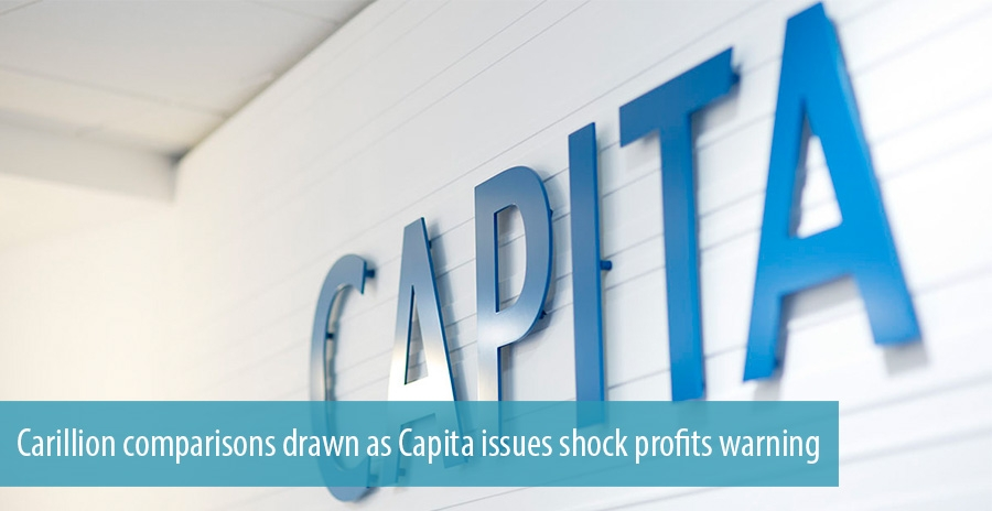 Carillion comparisons drawn as Capita issues shock profits warning