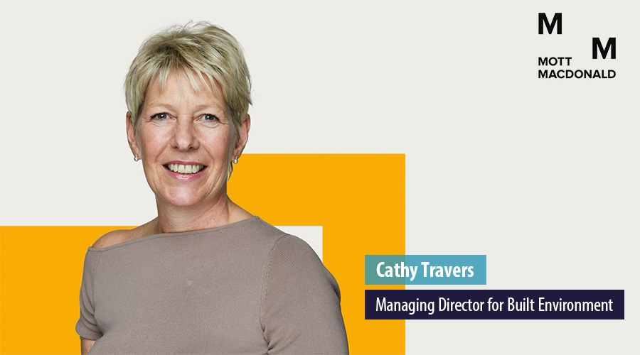Cathy Travers, Managing Director for Built Environment