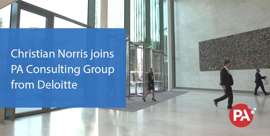Former Deloitte Director Christian Norris becomes Partner at PA