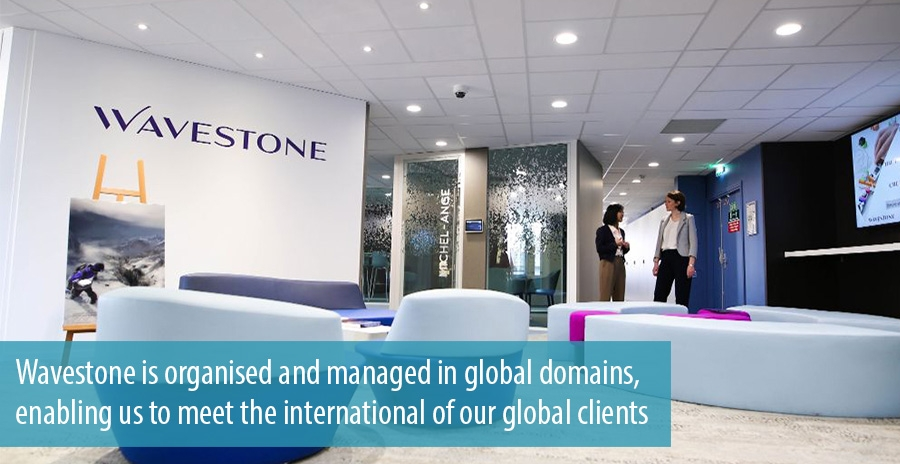 Wavestone is organised and managed in global domains, enabling us to meet the international of our global clients