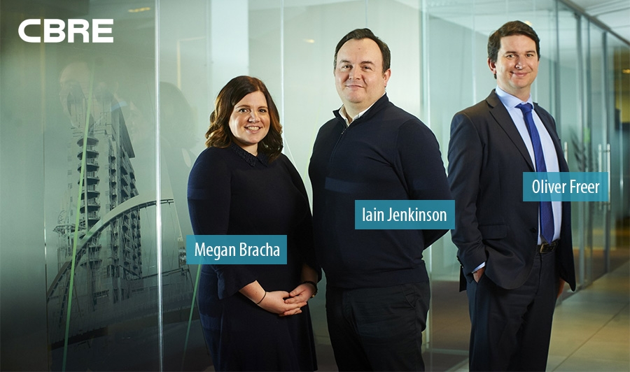 CBRE hires Oliver Freer and Meghan Bracha to head new Planning team