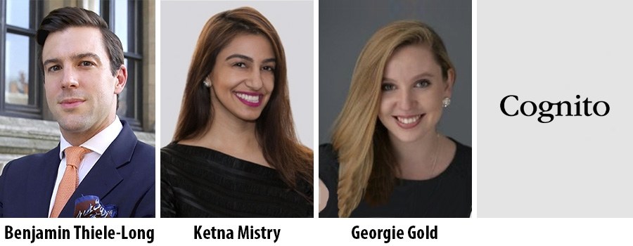 Benjamin Thiele-Long, Ketna Mistry and Georgie Gold - Cognito