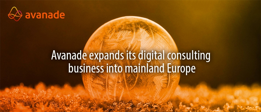Avanade expands its digital consulting  business into mainland Europe