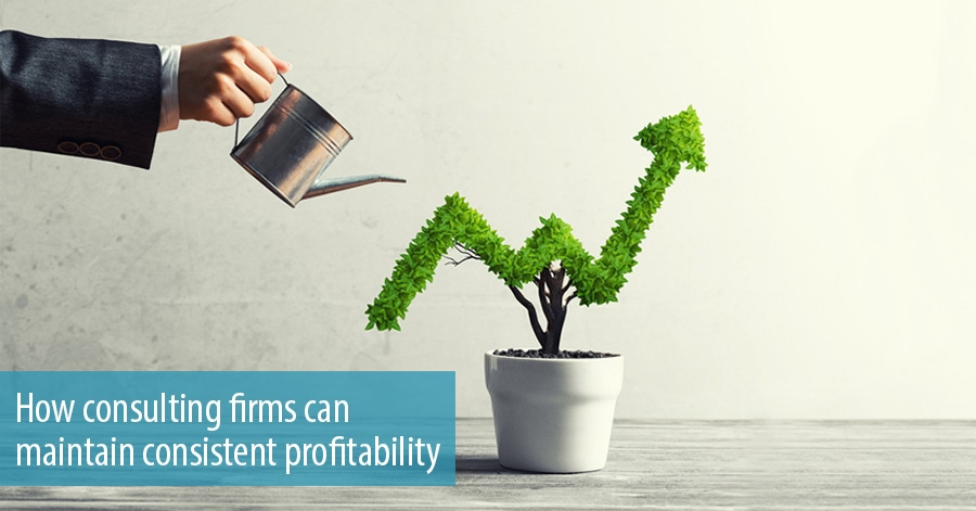How consulting firms can maintain consistent profitability