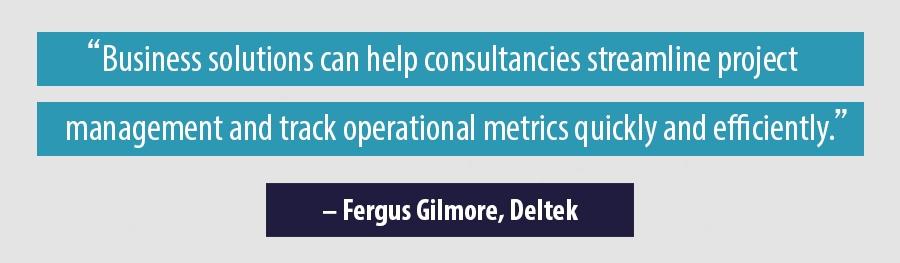 Quote - Fergus Gilmore, Deltek