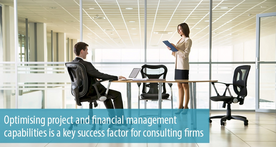 Optimising project and financial management capabilities is a key success factor for consulting firms