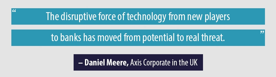 Quote Daniel Meere, Axis Corporate in the UK