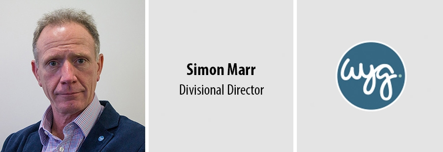 Simon Marr, Divisional Director at WYG