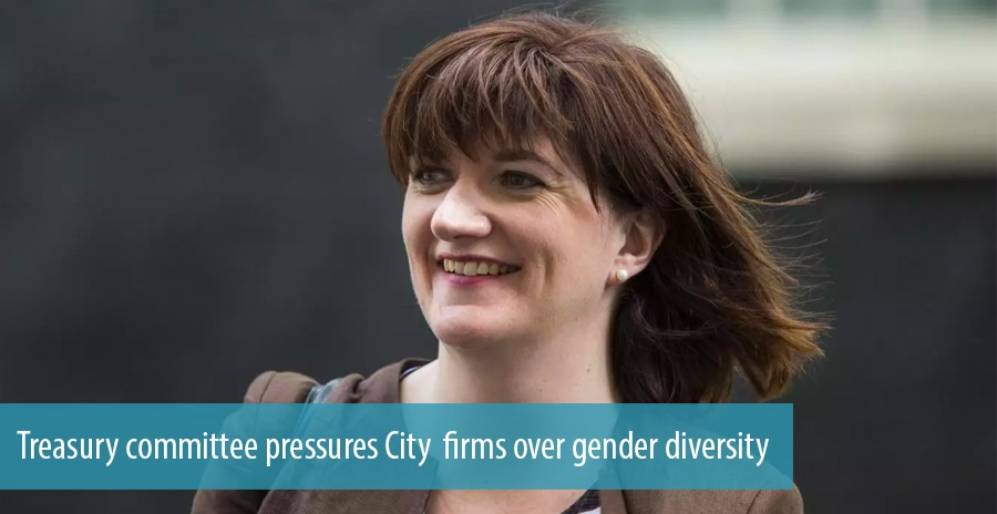Treasury committee pressures City  firms over gender diversity