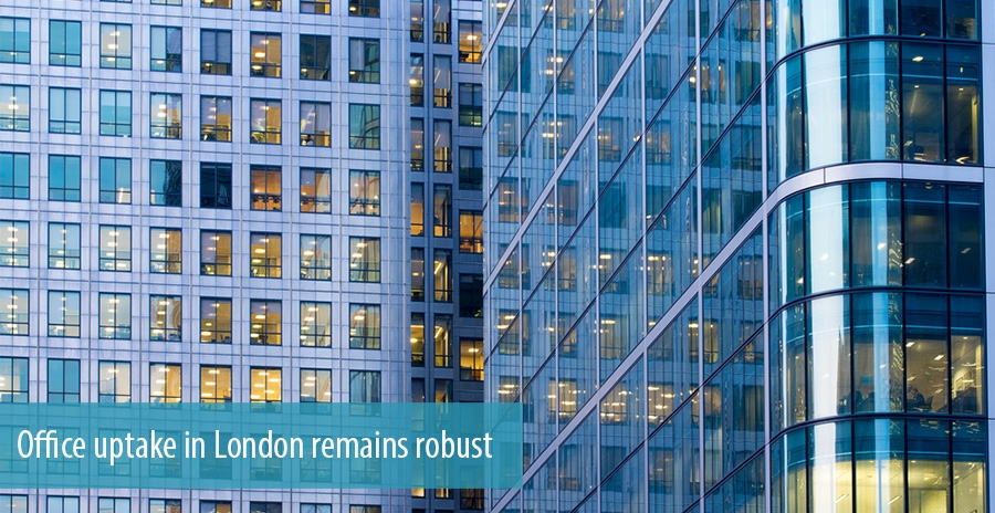Office uptake in London remains robust