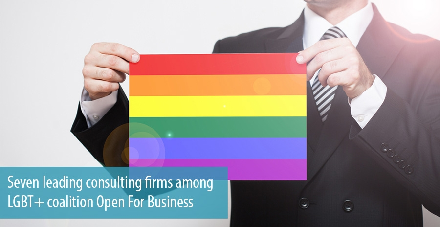 Seven leading consulting firms among LGBT+ coalition Open For Business