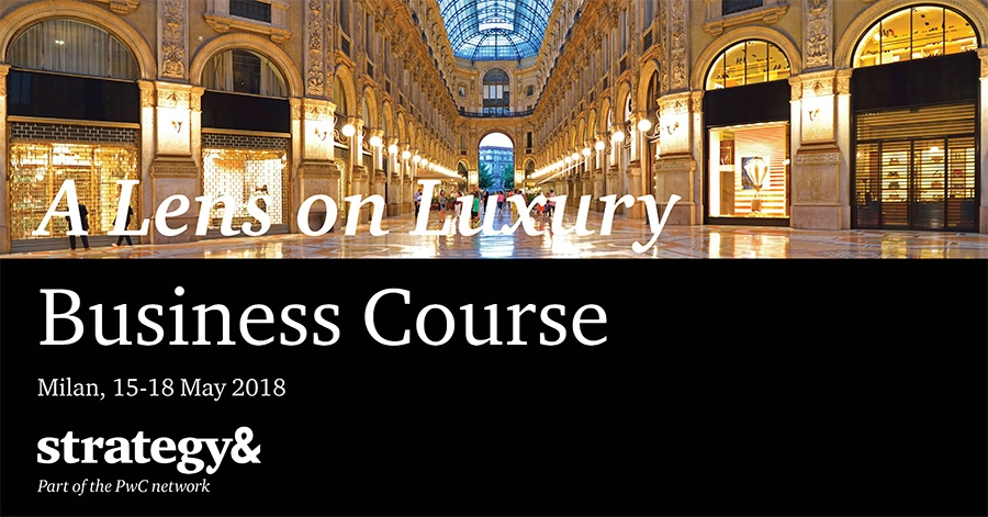 Strategy& 'A Lens on Luxury' business course