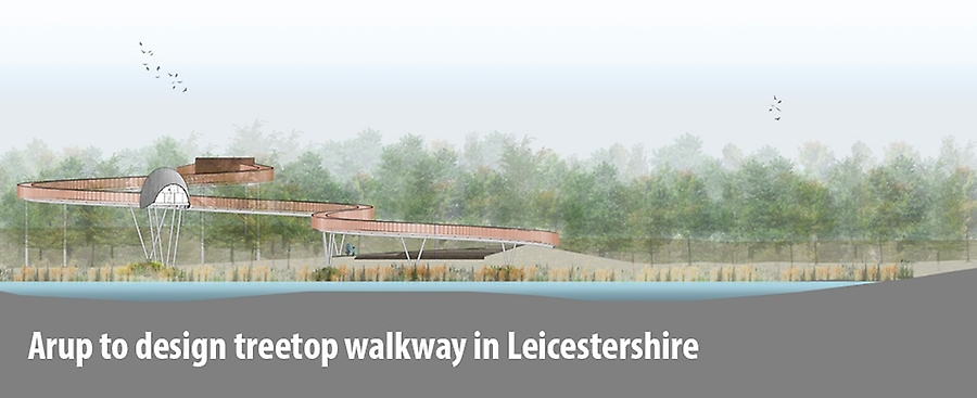 Arup to design treetop walkway in Leicestershire