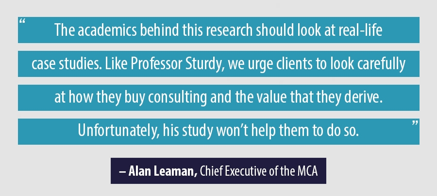 Quote Alan Leaman, Chief Executive