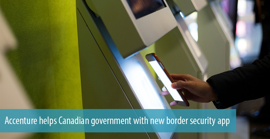 Accenture helps Canadian government with new border security app