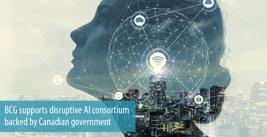 BCG supports disruptive AI consortium backed by Canadian government