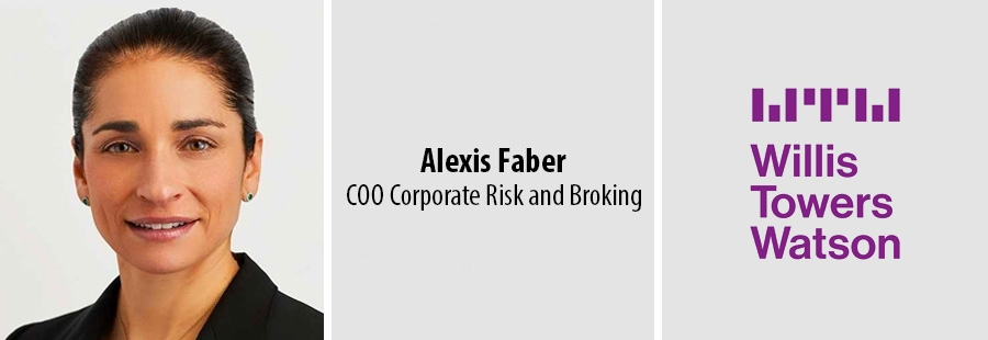 Alexis Faber - COO Corporate Risk and Broking - WTW
