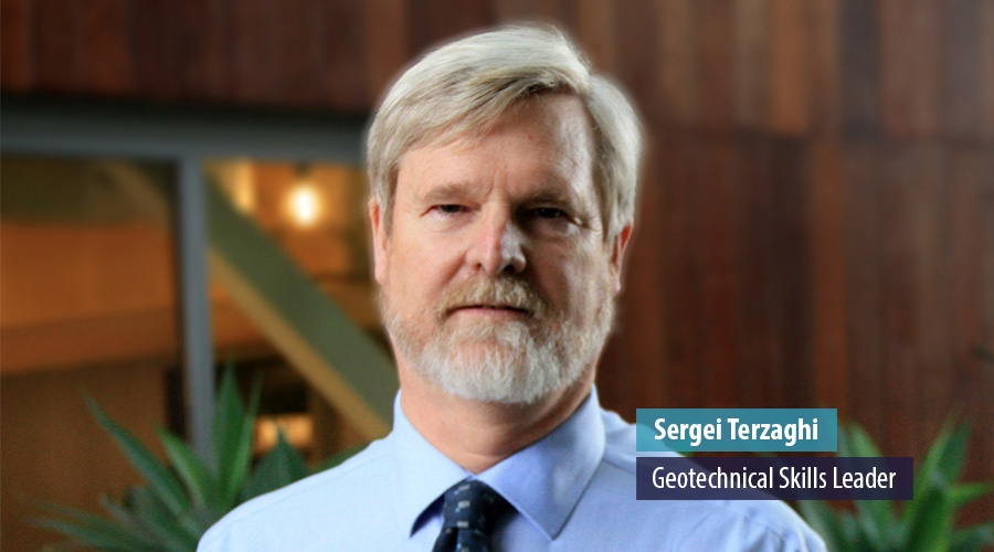 Sergei Terzaghi, Geotechnical Skills Leader