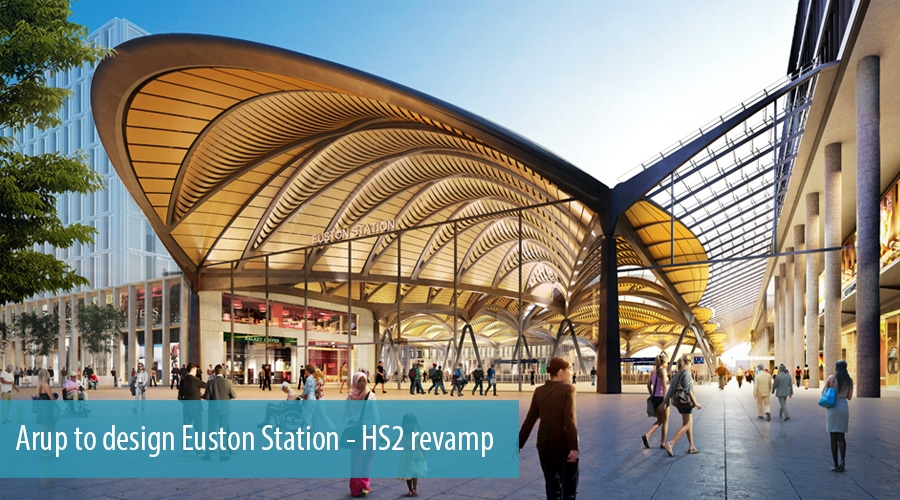 Arup to design Euston Station - HS2 revamp