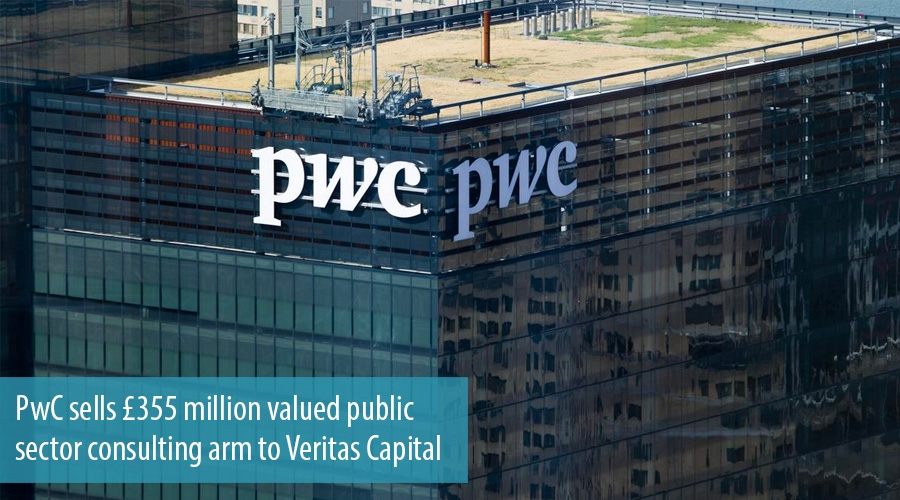 PwC sells £355 million valued public sector consulting arm