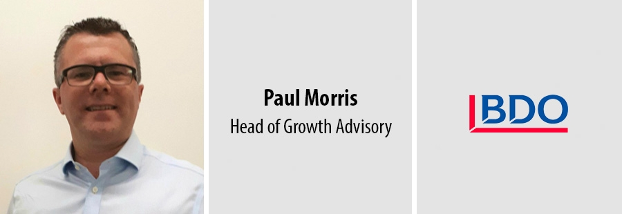 Paul Morris, Head of Growth Advisory - BDO