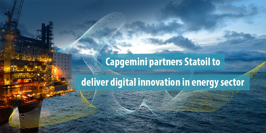 Capgemini partners Statoil to deliver digital innovation in energy sector