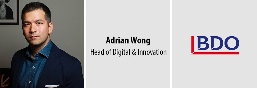 Adrian Wong, Head of Digital & Innovation