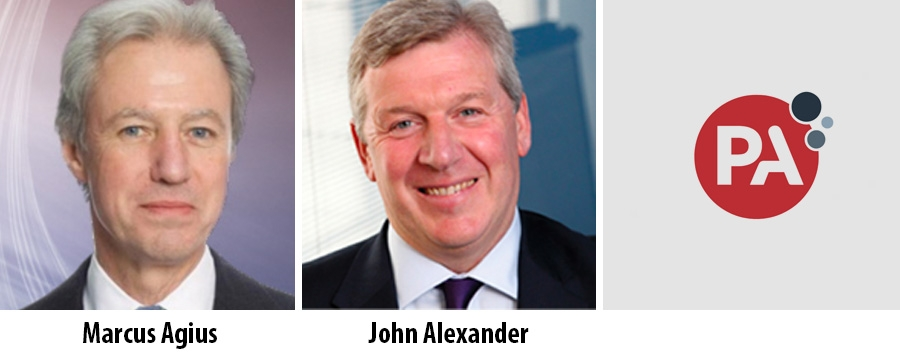 Marcus Agius and John Alexander - PA Consulting