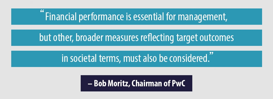 Quote - Bob Moritz, Chairman of PwC