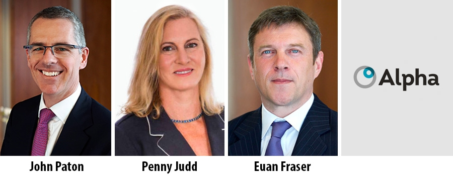John Paton and Penny Judd appointed to the Board of Alpha FMC