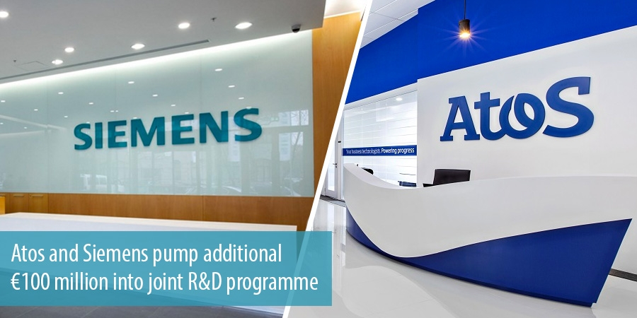 Atos and Siemens pump additional €100 million into joint R&D