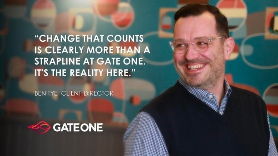 Ben Tye, Client Director, Gate One