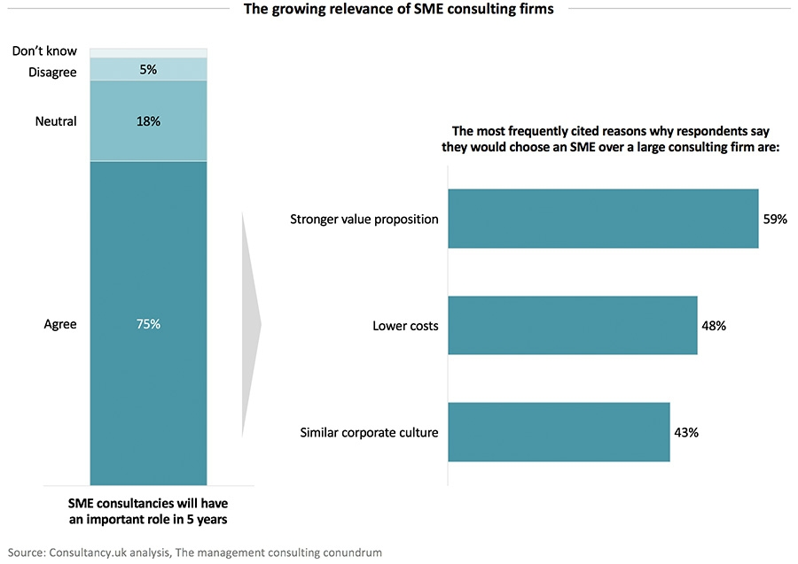 The growing relevance of SME consulting firms