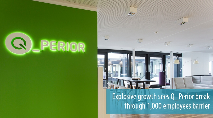 Explosive growth sees Q_Perior break through 1,000 employees barrier