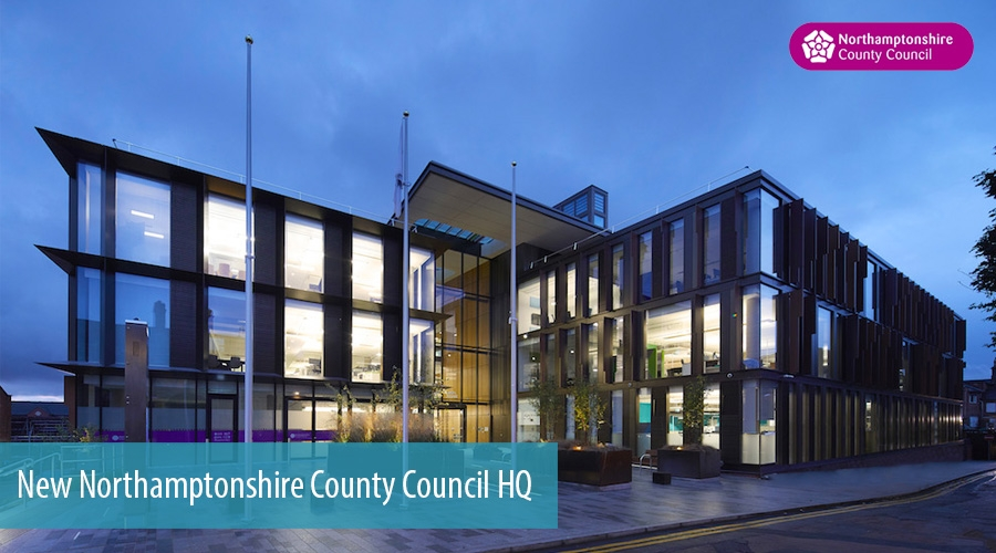 New Northamptonshire County Council HQ