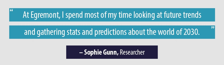 Quote Sophie Gunn, Researcher