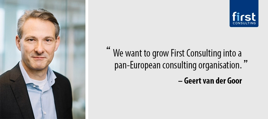 We want to grow First Consulting into a pan-European consulting organisation