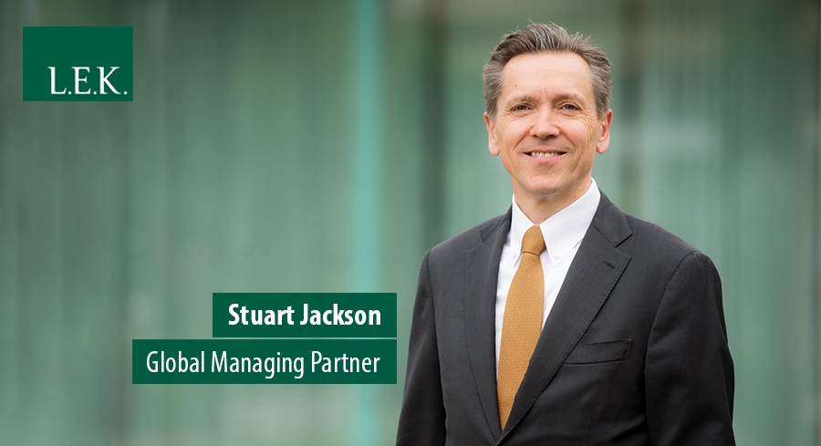 Stuart Jackson, Global Managing Partner, L.E.K. Consulting