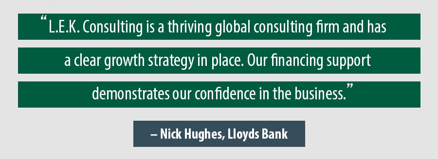 Quote Nick Hughes, Lloyds Bank