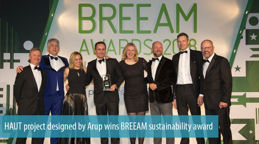 HAUT project designed by Arup wins BREEAM sustainability award