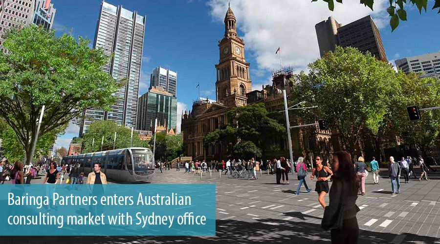 Baringa Partners enters Australian consulting market with Sydney office