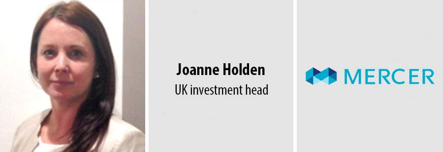 Joanne Holden, UK investment head - Mercer