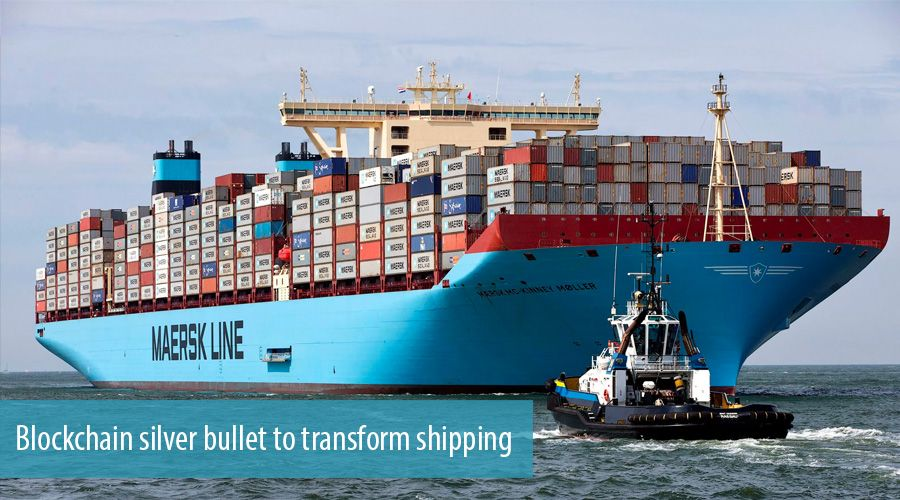 Blockchain silver bullet to transform shipping