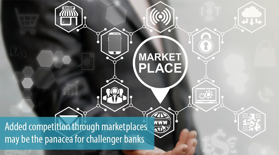 Added competition through marketplaces may be the panacea for challenger banks