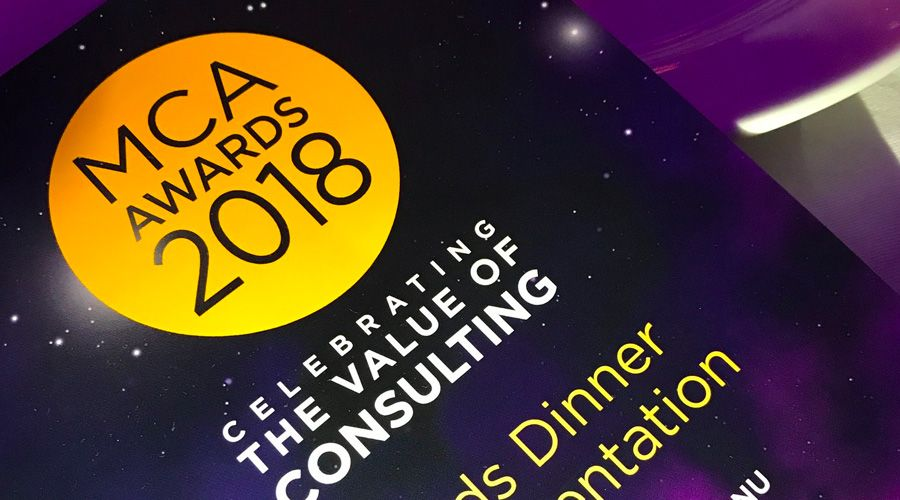 16 consulting firms recognised for client excellence at MCA Awards